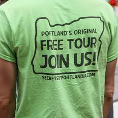 Portlands free walking tour