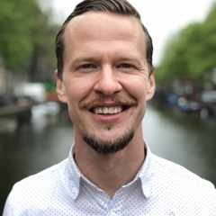 Nick — Guide of Free Walking Tour of Amsterdam, Netherlands