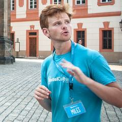 Miles — Guide of Free Prague Castle Tour, Czech Republic