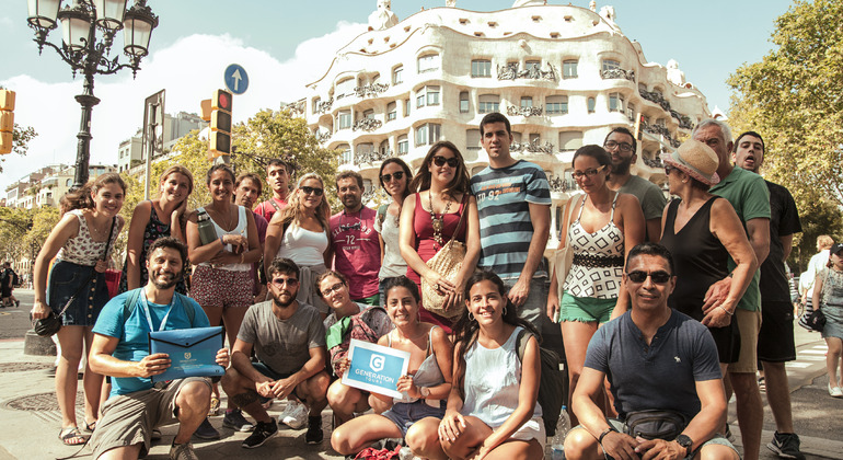 Free Tour Gaudí and Modernisme Provided by Generation Tours Barcelona