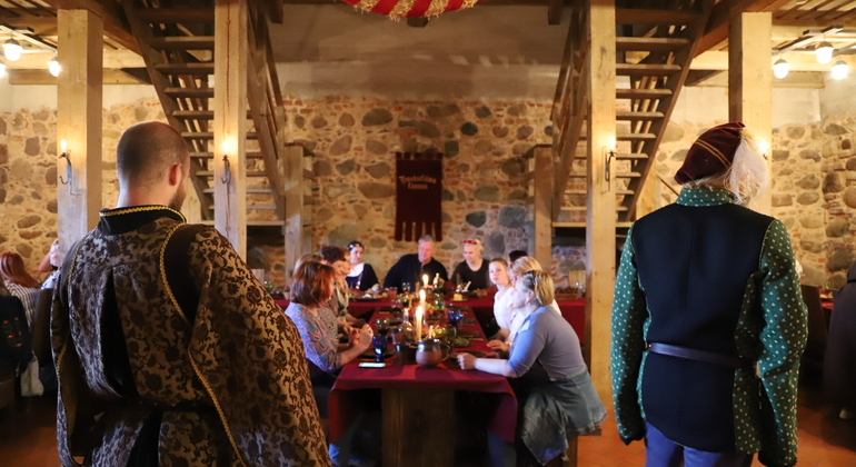 Tales of Reval: The Immersive Walking Tour with a Medieval Feast Provided by Tales of Reval - private