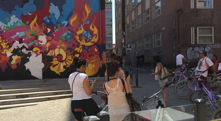 Street Art Bike Tour Bologna Italy — #1