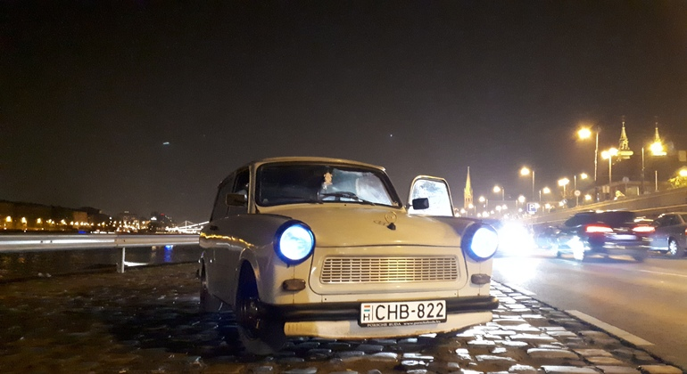 Trabant Lights of Budapest Tour Provided by Tibor Veress