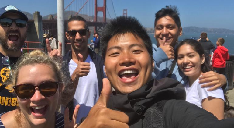 Free Golden Gate Bridge Walking Tour Provided by CJ Luo