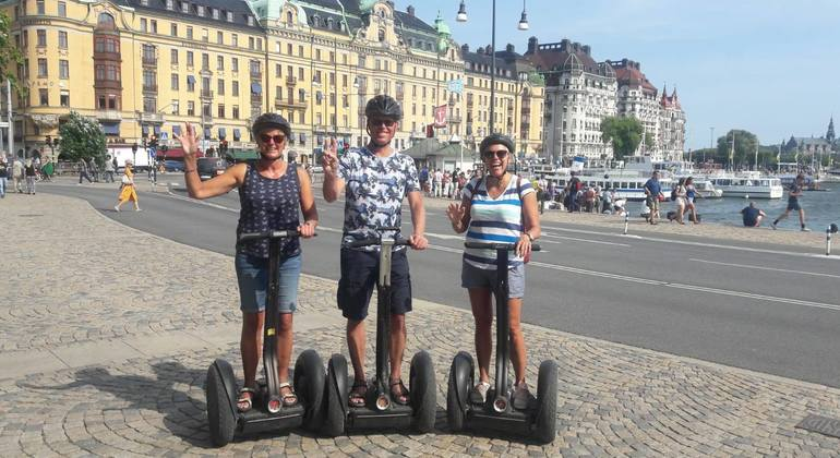 Segway Stockholm Tour Provided by Free Walking Tour Stockholm