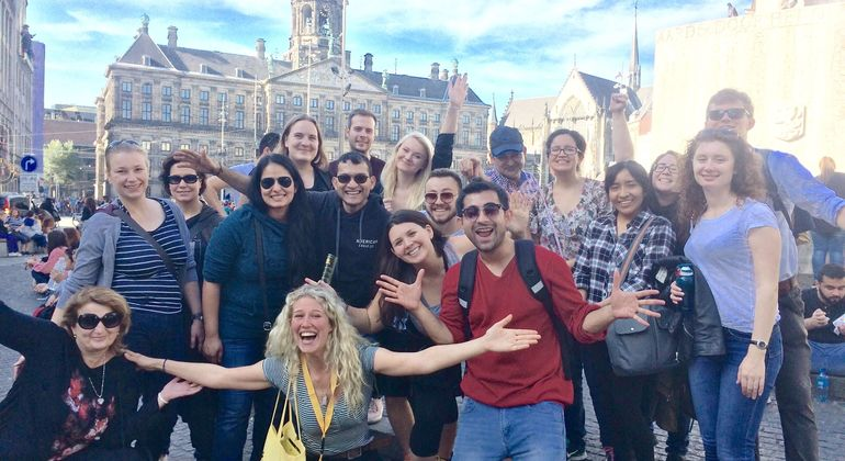 Free Walking Tour of Amsterdam Provided by FreeDam Tours
