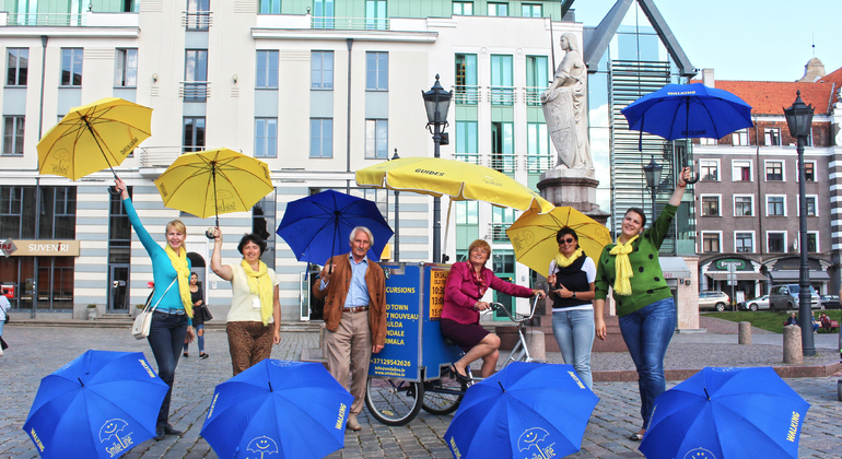 Daily Walking Tours of Riga Provided by Smile line day tours