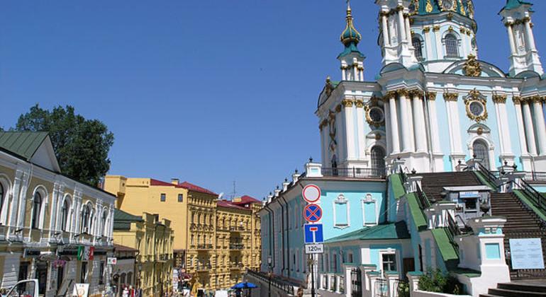 Podil Walking Tour Provided by Kiev Free Walking Tours