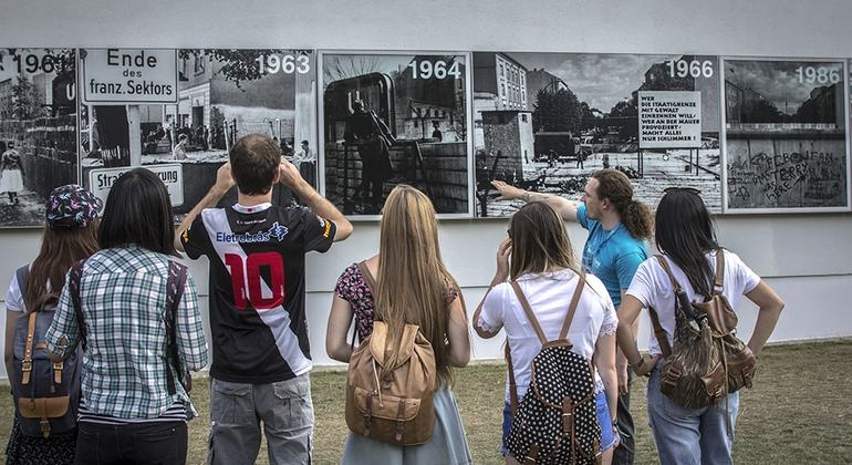 Rise and Fall of the Berlin Wall Germany — #3