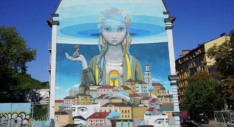 Street Art Tour Provided by Kiev Free Walking Tours
