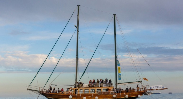 The Blue Side of Barcelona on Cruise Provided by Goleta Karya