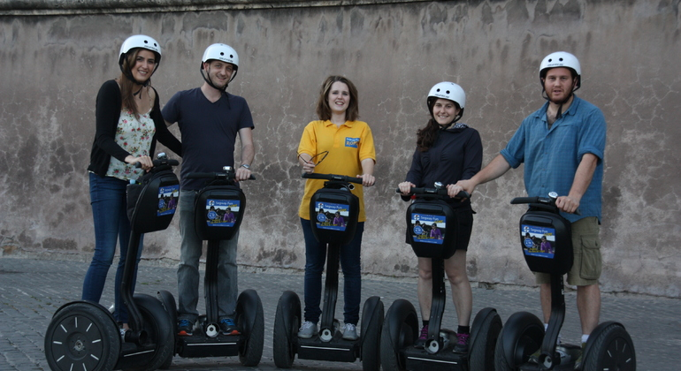 Segway Grand City Tour Provided by Segway Fun Rome