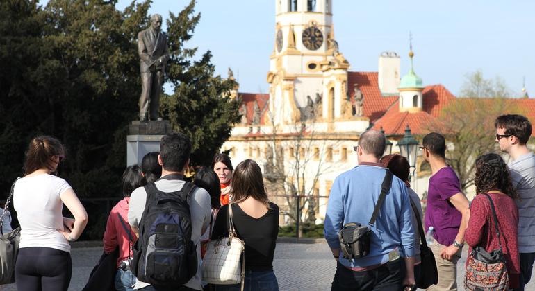 Castle District Walking Tour Provided by Discover Prague Tours