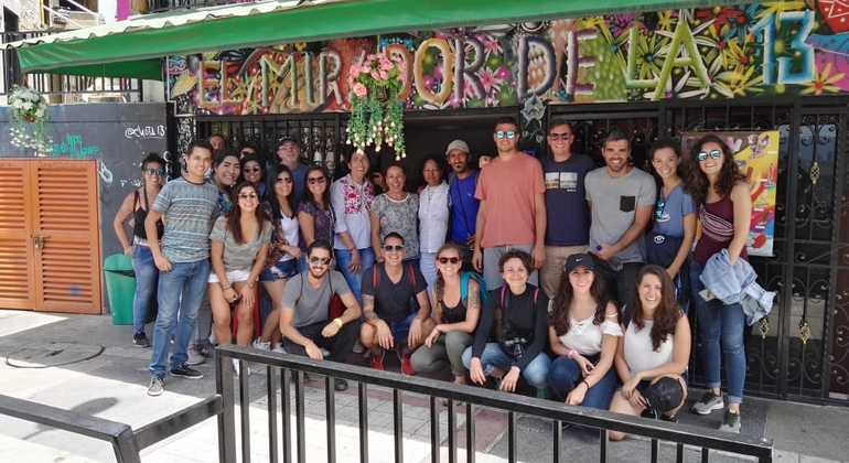 Graffiti Free Zippy Walking Tour Comuna 13 Colombia — #25
