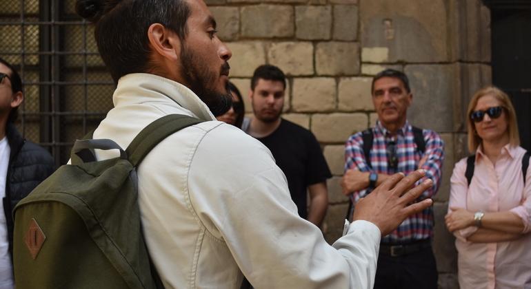 Journey Through Gothic Quarter Free Tour Spain — #2