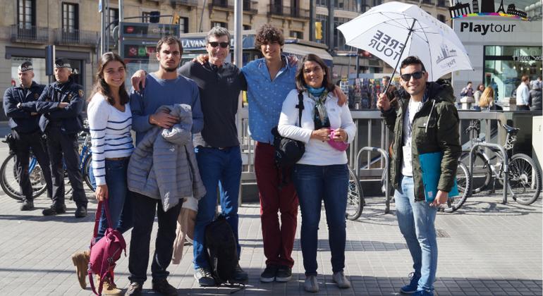 Journey Through Gothic Quarter Free Tour Spain — #9