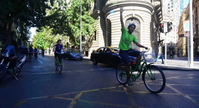 Santiago Parks and Politics Bike Tour Provided by La Bicicleta Verde