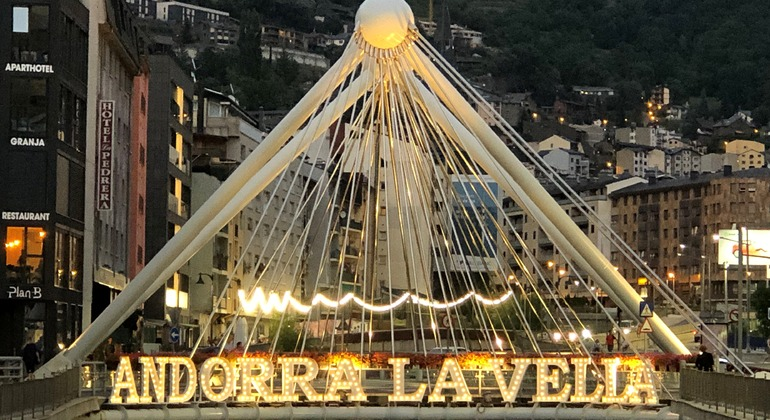 Free Tour Andorra by Night: Light and Color Festival