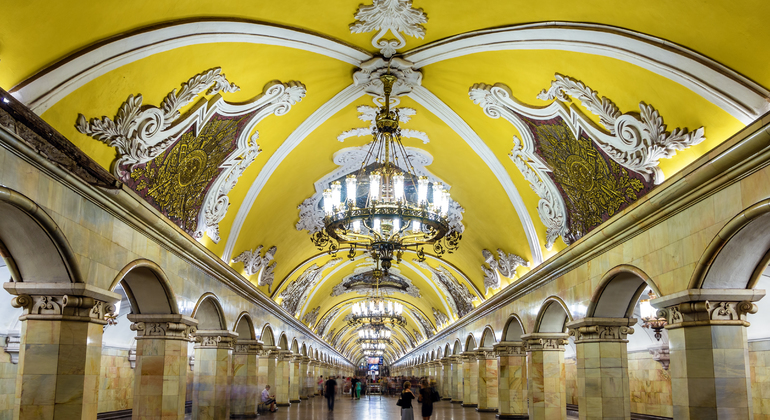 Moscow Metro Walking Tour Provided by Visit Moscow tours