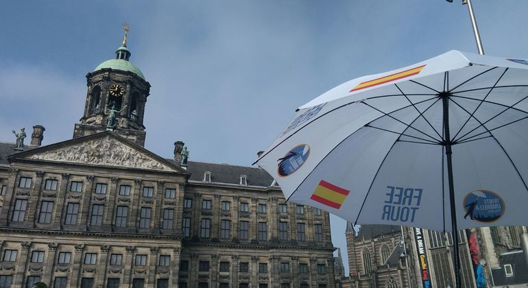Spanish Free Tour in Amsterdam Provided by White Umbrella Tours Amsterdam