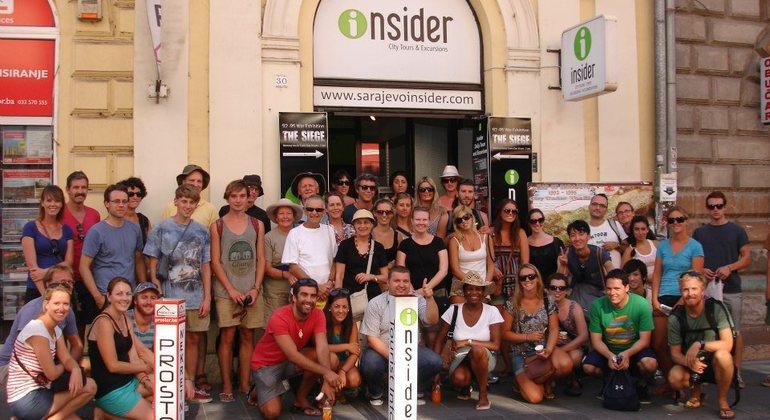 Sarajevo Free Tour Provided by INSIDER Sarajevo