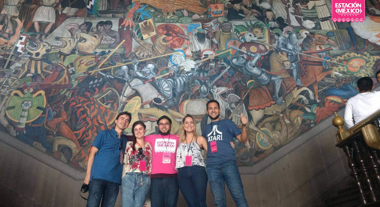 Mexican Muralism Walking Tour Provided by Estacion Mexico Free Tours