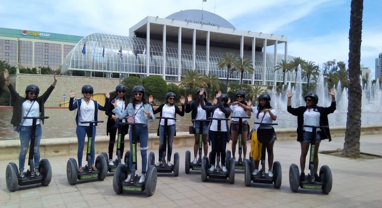 Music Palace Segway Tour Provided by Segway Trip Valencia