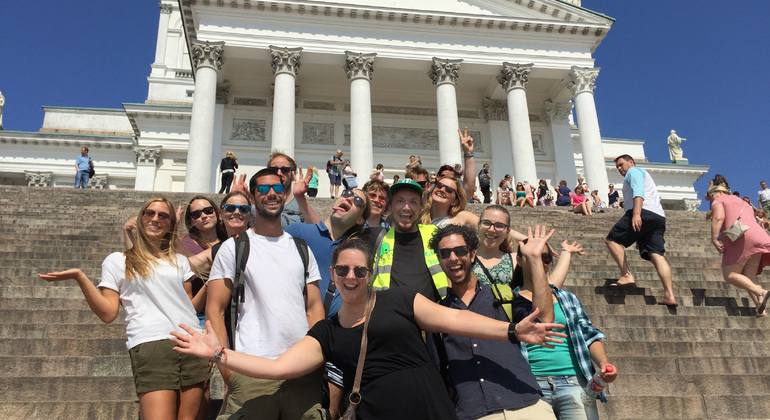Helsinki Free Walking Tour Provided by Green Cap Tours