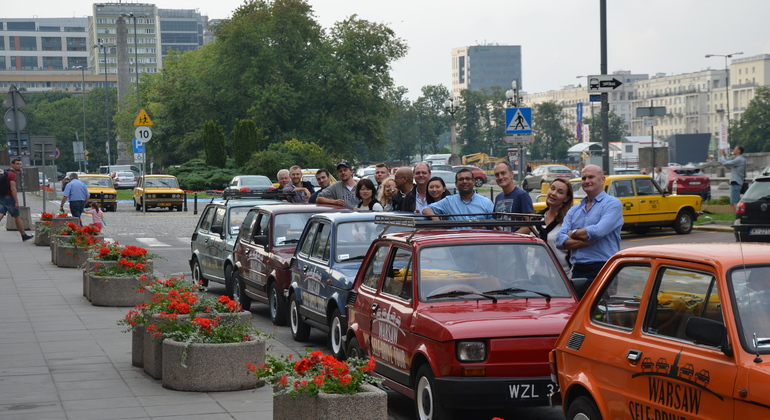 Warsaw Highlights Self-Drive Tour - Retro Fiat Provided by WPT1313 Warsaw Private Tours