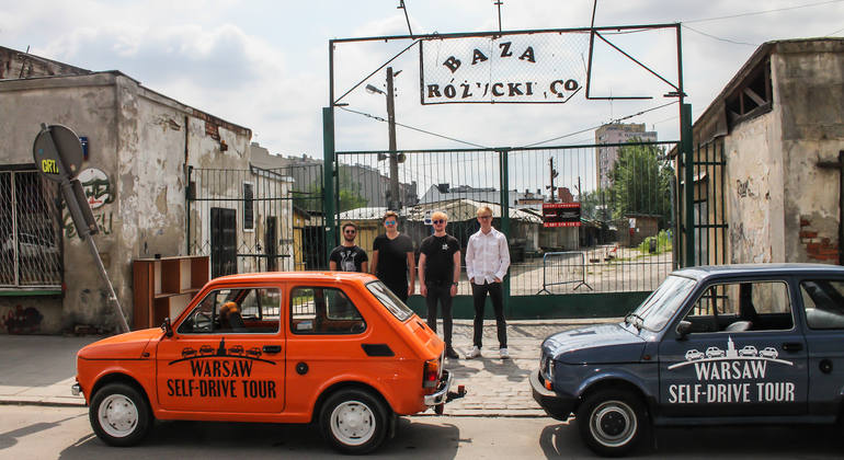 Warsaw Communism Self-Driving Tour - Retro Fiat Provided by WPT1313 Warsaw Private Tours