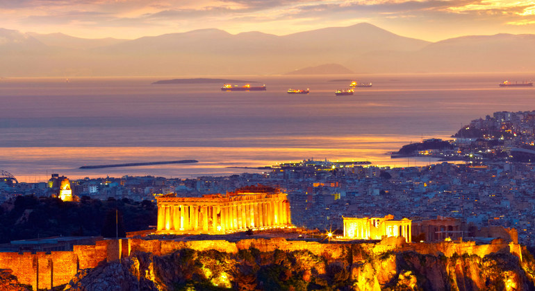 Athens by Night Private Car Tour Greece — #1