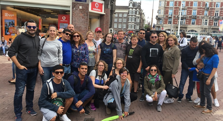 Amsterdam Free Walking Tour Provided by Camaleon Tours