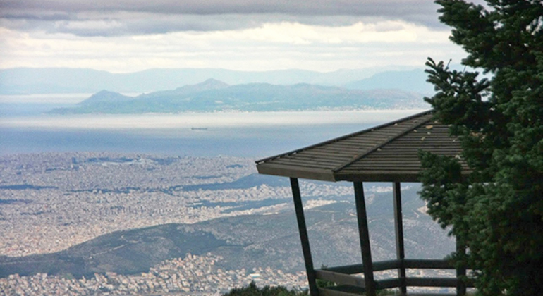 To the Peak of Athens Nature Car Tour Provided by Constantine