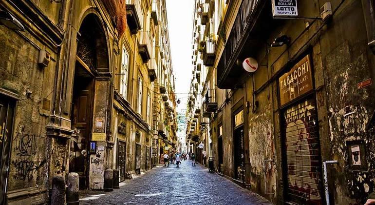 Naples Old Town Free Walking Tour Italy — #6