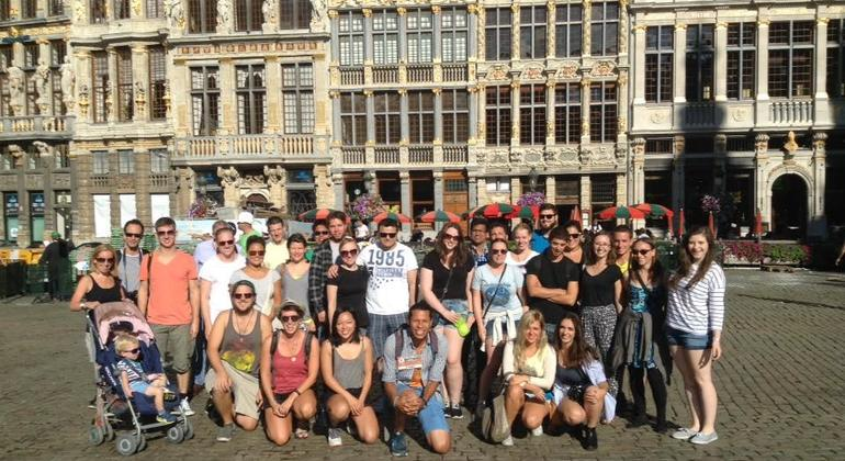 Free Walking Tour Brussels Meeting Point
