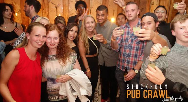 Stockholm Pub Crawl Provided by Stockholm Pub Crawl