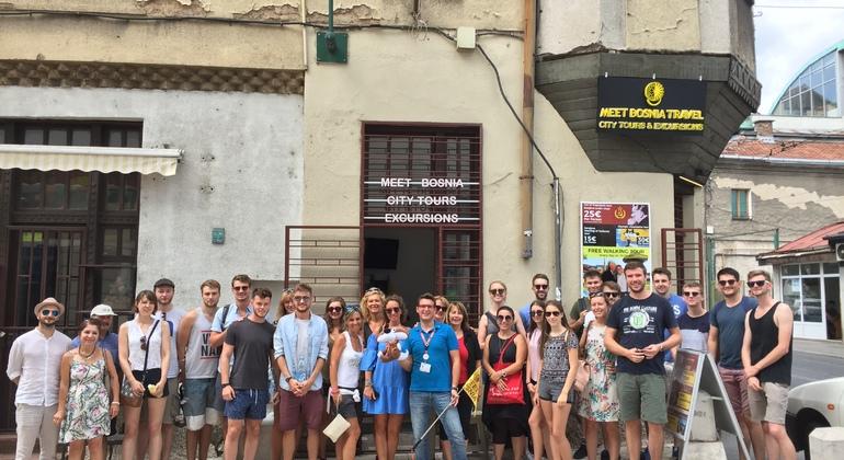 Free Walking Tour in Sarajevo Provided by Meet Bosnia Travel
