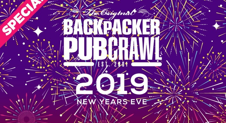 Prague New Year's Eve Pubcrawl 2019 Provided by The Backpacker Pubcrawl