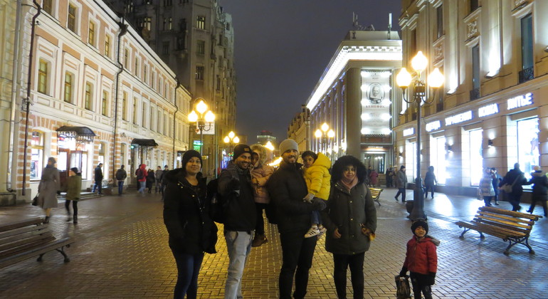 Moscow at Night Tour Provided by Walk & Talk Tous