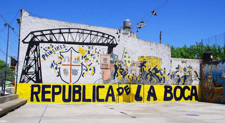 Free La Boca Tour Argentina — #6