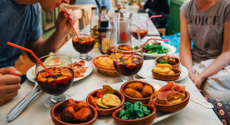 Free Madrid Tapas Tour Provided by Strawberry Tours