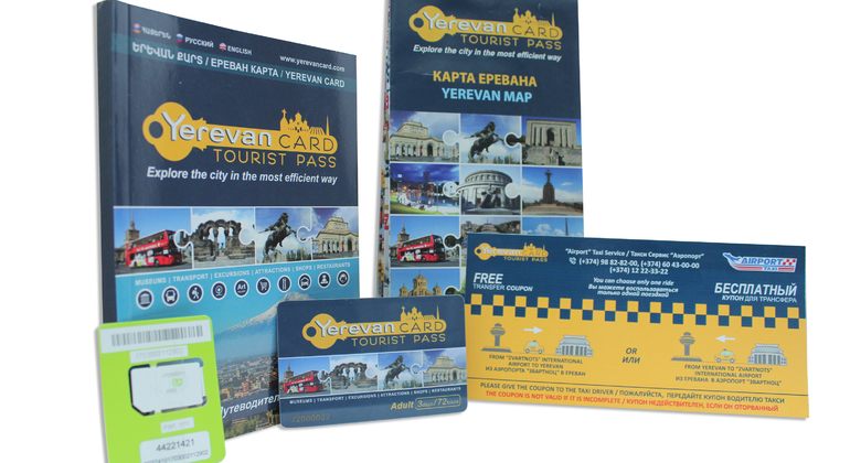 Yerevan Card - The Official City pass Provided by Yerevan Card