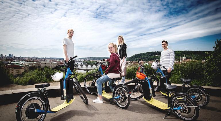 Prague E-Scooter Panoramic Tour Czech Republic — #1