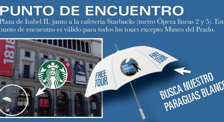 Free Tour Madrid en Español Provided by White Umbrella Tours Madrid