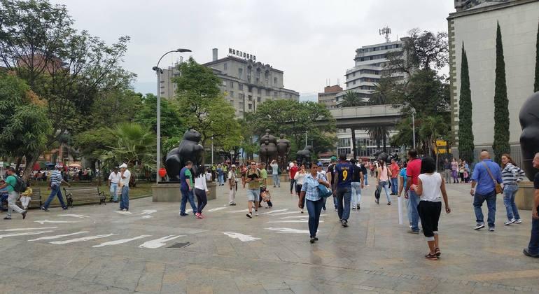 Botero Free English Tour Provided by Medellin English Tours