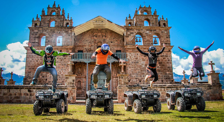 Quad Bike Tour of Maras, Moray & Salineras Operado por chullos travel perú