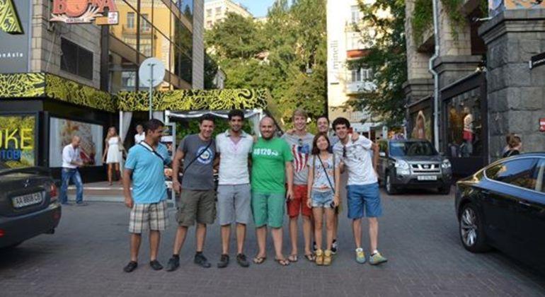 Ancient Kiev Free Tour Provided by Kiev Free Walking Tours