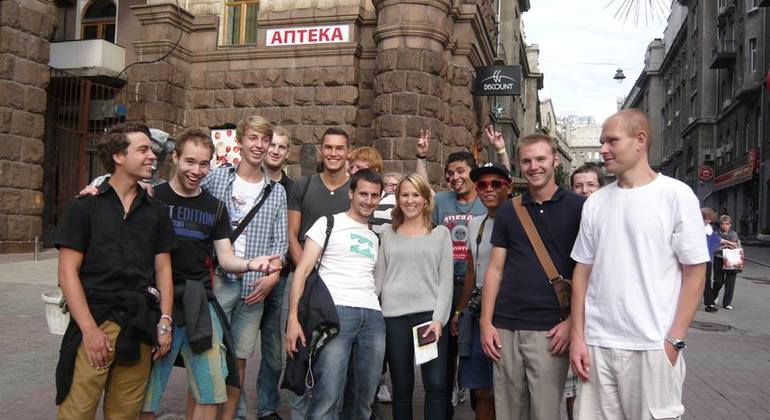 Soviet Kiev Free Tour Provided by Kiev Free Walking Tours