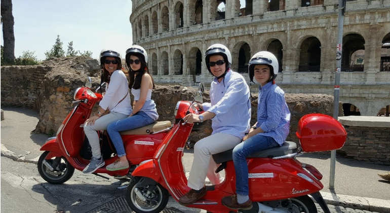Vespa Tour of Rome Provided by Roma Rent Bike