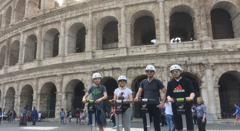 Panoramic Tour of Rome by Segway Provided by Turtle Tour Rome